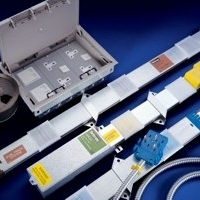 Powertrack underfloor trunking system