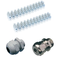 Cable glands & terminal blocks